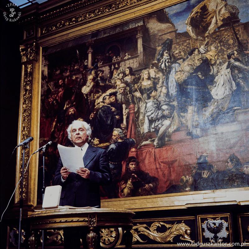 wręczenie nagrody Rembrandta